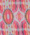 Tunique fluide imprimée et ceinturée