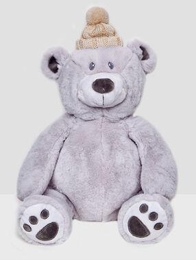 Bear pyjama rack grey.