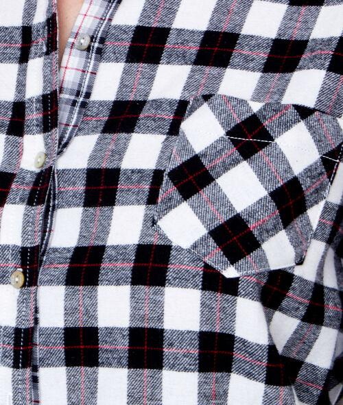 Chemise à carreaux;${refinementColor}