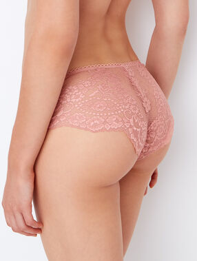 Lace shorts pink.