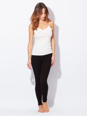 Legging ultra fin, ultra léger, ultra chaud noir.