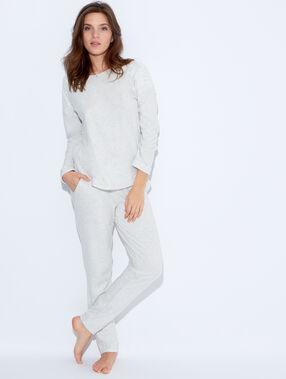 Pyjama pants beige.