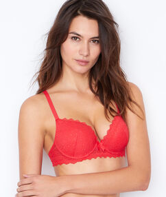 Soutien-gorge magic up® rouge.