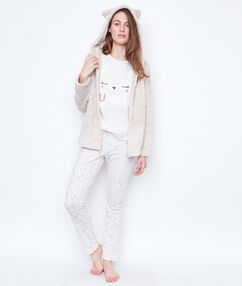 Pyjama 3 pieces beige.