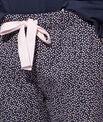 Pantalon imprimé à pois