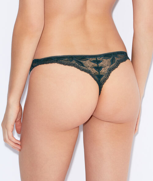 Micro and lace tanga;${refinementColor}
