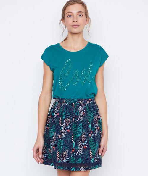 Flowing skirt