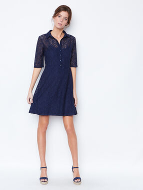 Formal dress navy.