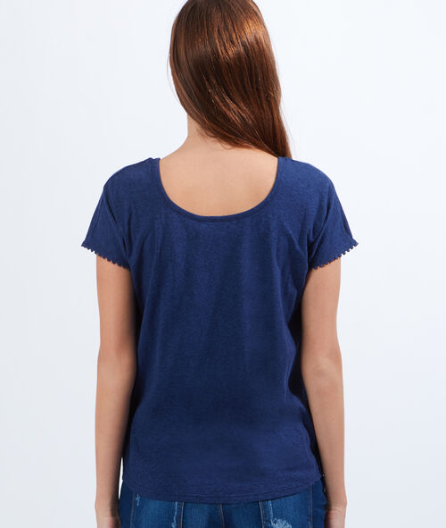 Guipure cotton top