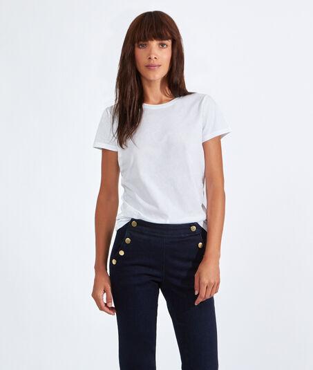 TERESAT-shirt col rond en coton
