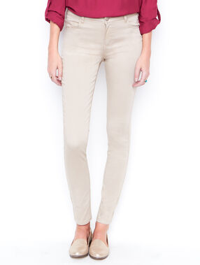 Slim pants beige.