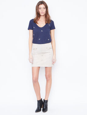 Short sleeve t-shirt navy.