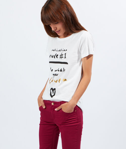 T-shirt sérigraphié