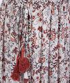 Jupe longue imprimée à fleurs