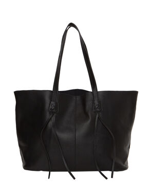 Tote bag black.