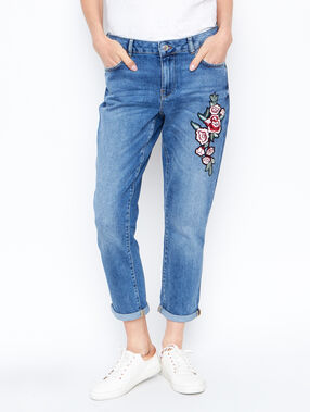 Boyfriend jean denim.