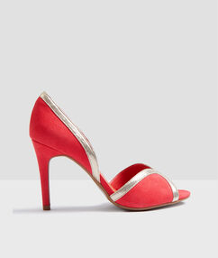 Heel court shoes blush.