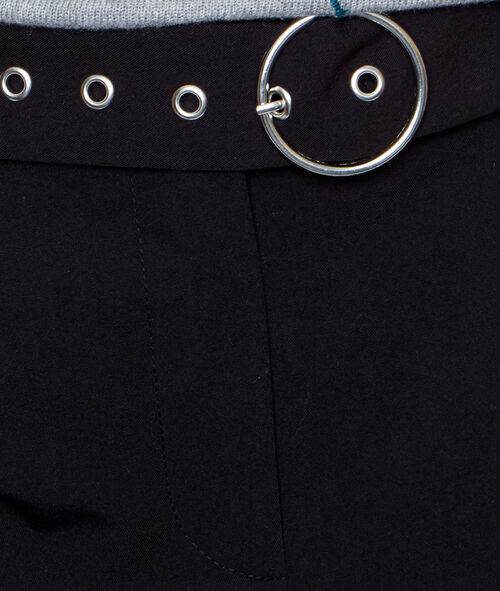 Pantalon ceinturé