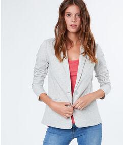 Casual blazer light grey.