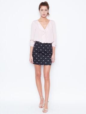 Formal skirt black.