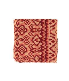 Foulard imprimé aztèque brique.