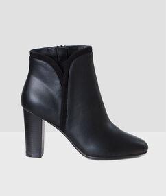 Schuhe schwarz.