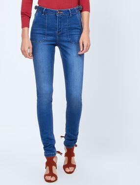 Jean skinny medium denim.