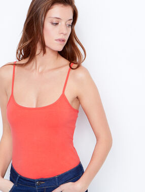 Tank top coral.