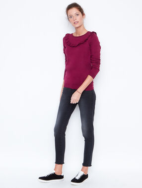 Sweater plum.