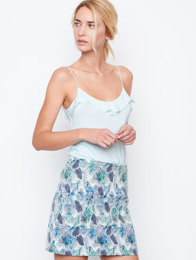 Printed skirt emeraid.
