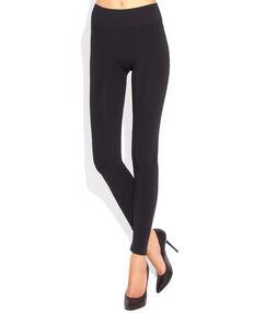 Legging schwarz.
