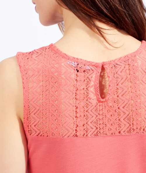 Ethnic lace top