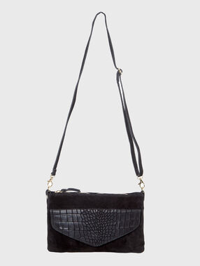 Clutch bag black.