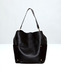 Bucket bag black.