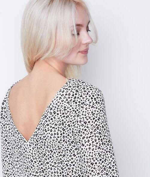 Chemise en V au dos