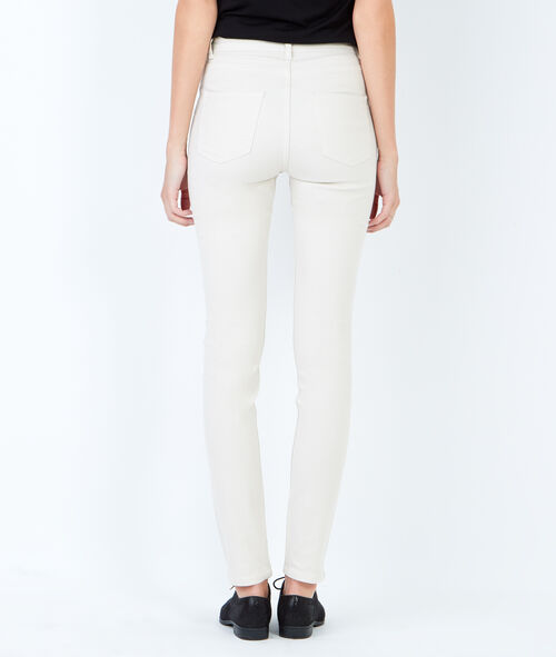 Straight fit cotton pants