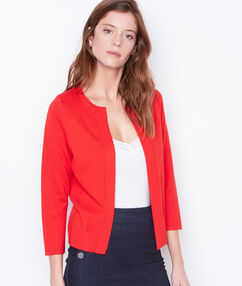 Jacket red.