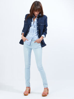 Slim jeans chambray.