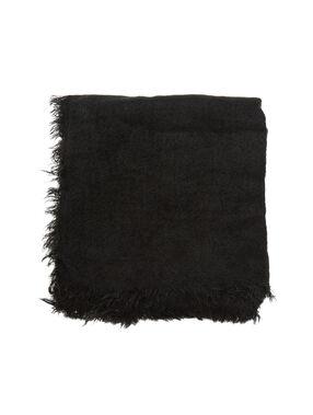 Halstüch schwarz.