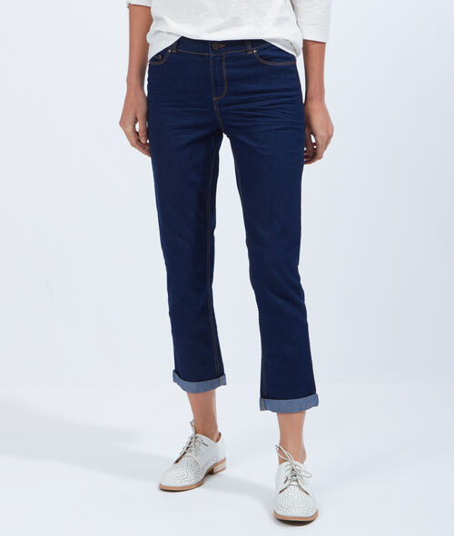 Cropped jeans