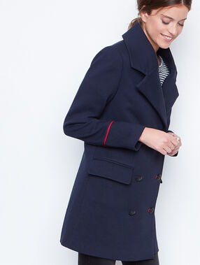 Long coat navy.