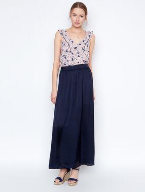 Long skirt navy.