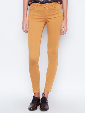 Pantalon skinny curry.