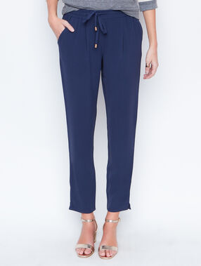 Pants marineblau.