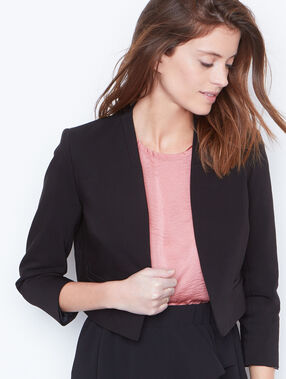 Short jacket black.