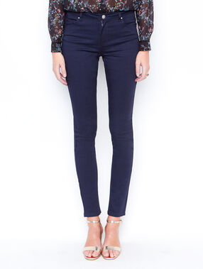 Slim pants navy.