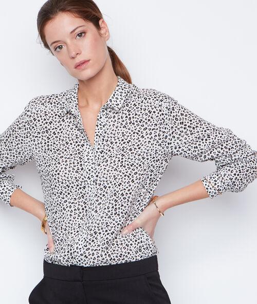 Chemise imprimée léopard