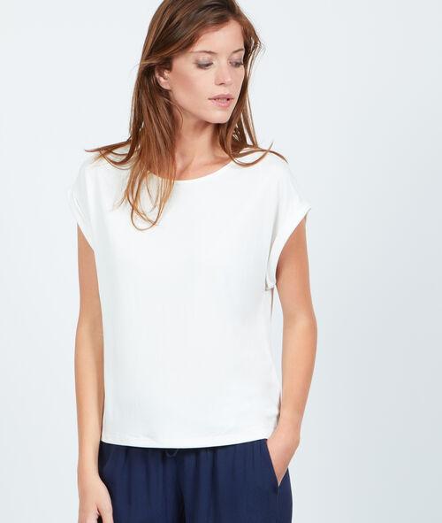 T-shirt dos ouvert doublé