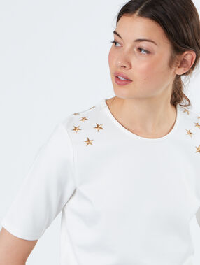 T-shirt weiß.