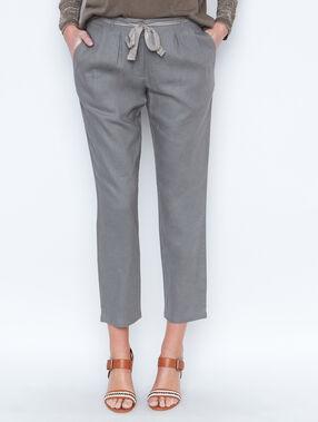Linen pants khaki.